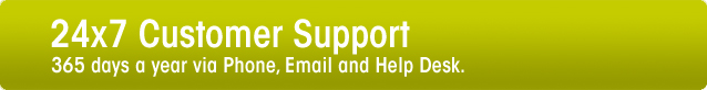 Customer Support for Web hosting Services